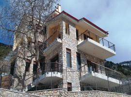 Holiday Home Vrachni Kalavrita with a Fireplace 01, Ano Zachlorou (рядом с городом Tsivlós)