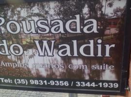 Pousada do Waldir, Aiuruoca (Carvalhos yakınında)