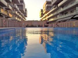 Alessia Beach Port Apartment, Badalona (Sant Adria de Besos yakınında)