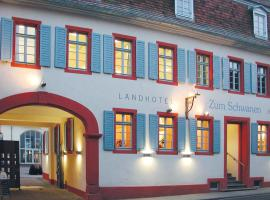 Landhotel zum Schwanen, Osthofen (Bechtheim yakınında)