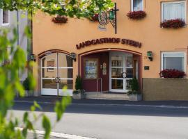 Landgasthof Zum Stern, Hammelburg- Obererthal (Elfershausen yakınında)
