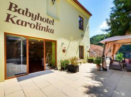 Babyhotel Karolínka, Vranov nad Dyjí (Hessendorf yakınında)