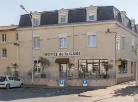 Hôtel de la Gare, Thouars (рядом с городом Saint-Jean-de-Thouars)