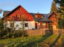 Ubytování na Slučím Tahu, Prášily (Svinná yakınında)