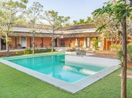 3-BR villa in Aldona, Goa, by GuestHouser 30112, Aldona