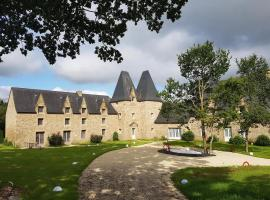 "Manoir de Pleac ""Gite Le Chene"", Комбур (рядом с городом Dingé)"