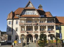 Amadeus Hotel Deutscher Hof, Georgenthal (Ohrdruf yakınında)