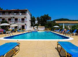 Hotel Olga, Агиос Стефанос (рядом с городом Avliótai)