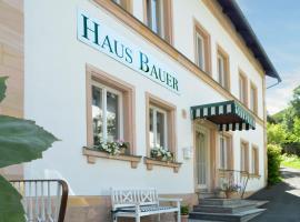 Hotel Haus Bauer, Bad Berneck im Fichtelgebirge