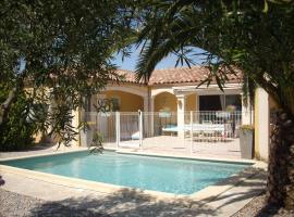 Villa La Dominicaine, Fouzilhon (рядом с городом Vailhan)