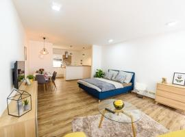 New luxury studio in Tábor + free parking, Tábor (Chotoviny yakınında)
