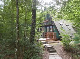 Woodpecker - bungalow 29, Durbuy (Septon yakınında)