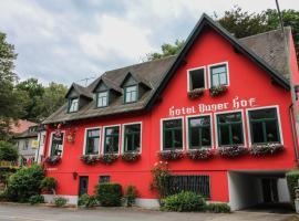 Hotel-Restaurant Buger Hof, Bamberg (Frensdorf yakınında)