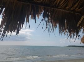 Hostal Boquilla Beach, Cartagena de Indias (Puerto Tierrabaja yakınında)
