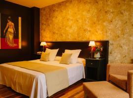 Hotel-Bodega La Casa del Cofrade, Albelda de Iregua (Clavijo yakınında)
