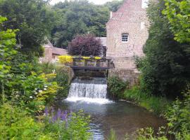 Le moulin de Cohem, Blaringhem (рядом с городом Ecques)