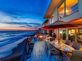 DP-357 - Privacy On The Beach Three-Bedroom Holiday Home, Capistrano Beach