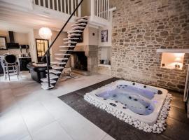 Gite avec Jacuzzi privatif dans la chambre, Bain-de-Bretagne (рядом с городом Le Haut Germigné)