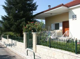Luxurious villa near Kalavryta ski resort, Клитория (рядом с городом Lekhoúrion)