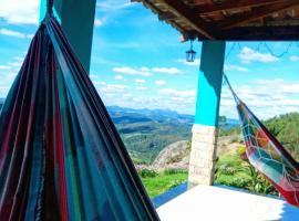 Casa Azul Aconchego, Pedra Azul (Guandu yakınında)