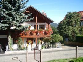Haus Familie Egner, Bühlertal (Schönbüch yakınında)