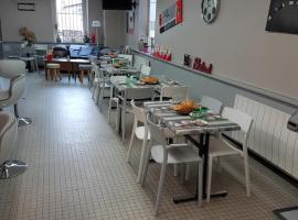 Le Café du Commerce, Beaune-la-Rolande (рядом с городом Yèvre-le-Châtel)