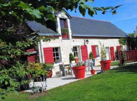 Maison d'hôtes Domaine de la touche, Cornillé-les-Caves (рядом с городом Bauné)