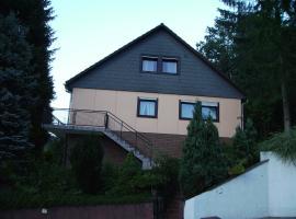 Ferienwohnung Andrea, Eberbach (Hirschhorn yakınında)