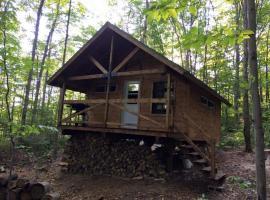 Les cabines Nordik des piles, Saint-Jean-des Piles