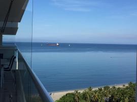 Apartaestudio Santa Marta vista al mar, Gaira