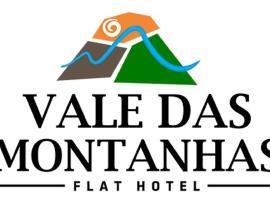 Flat Hotel Vale das Montanhas, Adrianópolis (Ribeira yakınında)