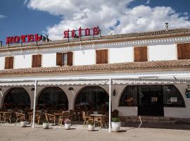 Hotel Restaurante Setos, Motilla del Palancar (рядом с городом Iniesta)
