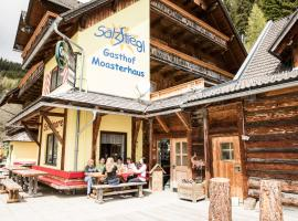 Erlebnisgasthof Moasterhaus, Hirschegg Rein (Lederwinkel yakınında)