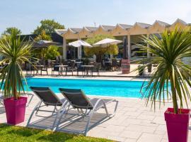 Brit Hotel Nantes Vigneux - L'Atlantel, Vigneux-de-Bretagne (рядом с городом Le Grand Merimont)