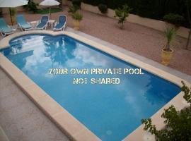 Apartment in Benferri with private pool, Benferri (La Murada yakınında)