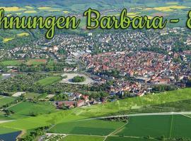 Ferienwohnung Barbara, Eschwege (Grebendorf yakınında)