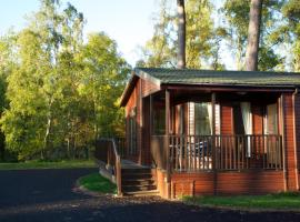 Royal Deeside Woodland Lodges, Aboyne (рядом с городом Dinnet)