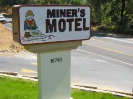 Miners Motel Jamestown, Jamestown (Near Sonora)