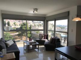 Apartament Hilu 16, Иерусалим (рядом с городом Manaẖat)