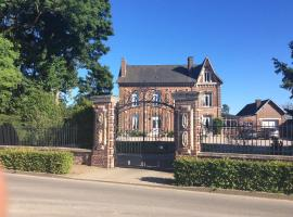 L'hostellerie du chateau, Mesnil-Saint-Nicaise (рядом с городом Omiécourt)