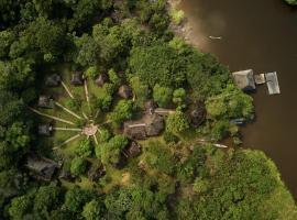 Sani Lodge, El Retiro (Cuyabeno yakınında)