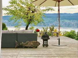 Lovely Guesthouse with Lakeview, Herrliberg (Forch yakınında)