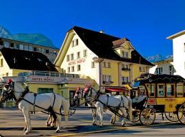 Hotel Höfli, Altdorf (Erstfeld yakınında)