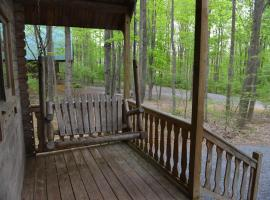 Appalachian Camping Resort Log Home 7