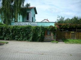 Pension Stepponat, Arnstadt (Wachsenburg yakınında)