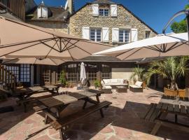 Logis Hotel Au Relais Aspois, Gurmençon