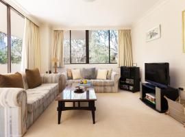 Spacious apartment on Sydney's lower North Shore, Sidney (Lane Cove yakınında)