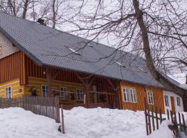 Penzion U Königsmarků, Vrchlabí (Hořejší Vrchlabí yakınında)