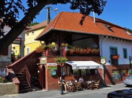 Vaskó Panzió Borpince, Токай (рядом с городом Tiszaladány)