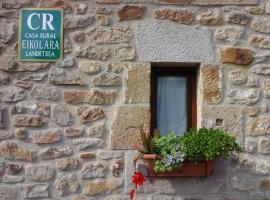 Casa Rural Eikolara Landetxea, Zalduendo de Álava (San Román yakınında)
